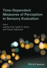 Hort, Joanne Time-Dependent Measures of Perception in Sensory Evaluation