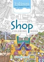 Alexandra Cowell BLISS Shop Coloring Book
