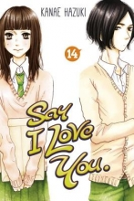 Hazuki, Kanae Say I Love You. 14
