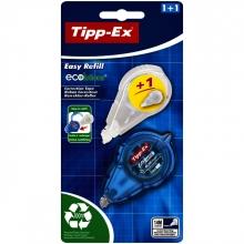, Correctieroller Tipp-ex 5mmx14m easy refill + refill ecolutions blister a 1+1