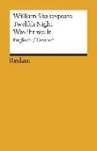 Shakespeare, William Twelfth Night Was ihr wollt (Der Dreikönigstag)