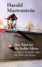 Martenstein, Harald Der Titel ist die halbe Miete