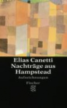 Canetti, Elias Nachtrge aus Hampstead