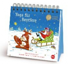 Yoga fr Rentiere Adventsaufsteller