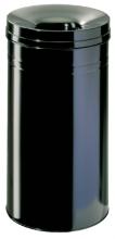 , Papierbak met vlamdover Durable 3327-01 60liter zwart