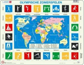 LARSEN puzzel - Olympische spelen (OB8)