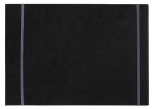 , Kunstenaarsmap MyArtBook A4 6-rings O-mech 14mm zwart zonder inhoud