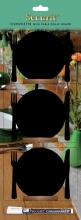 , Krijtbord Securit bord 10x12cm houten voet