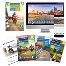 , Theorieboek Motor Rijbewijs A 2020 |Motor CD-ROM - Motor Theorieboek - Motor Theorie Samenvatting - Verkeerborden overzicht - Praktijk informatie