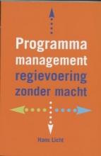 H. Licht , Programmamanagement
