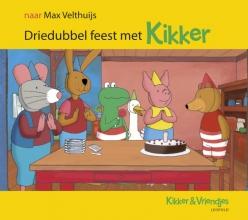 Max  Velthuijs Driedubbel feest met Kikker