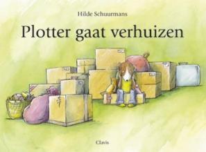 Hilde  Schuurmans Plotter gaat verhuizen (Clavisje)