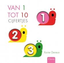 Xavier  Deneux Cijfers Van een tot tien