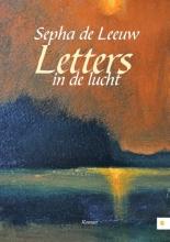 Sepha de Leeuw Letters in de lucht