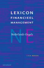 Jan  Berkien Lexicon financieel management E-N en N-E (set van 2 boeken)