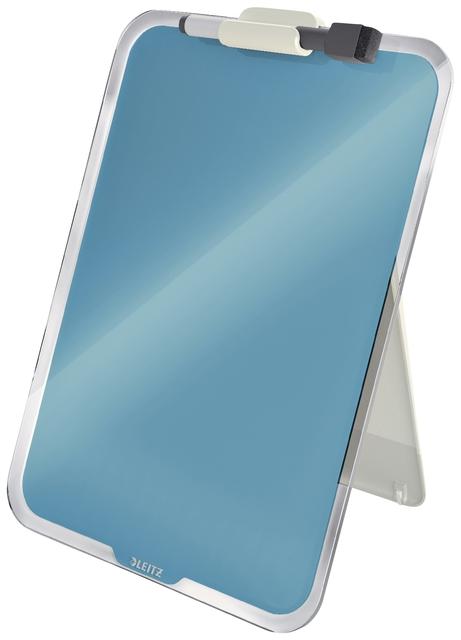 ,Glas Desktop Flipover Leitz Cosy blauw