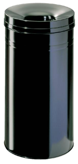 ,Papierbak met vlamdover Durable 3327-01 60liter zwart