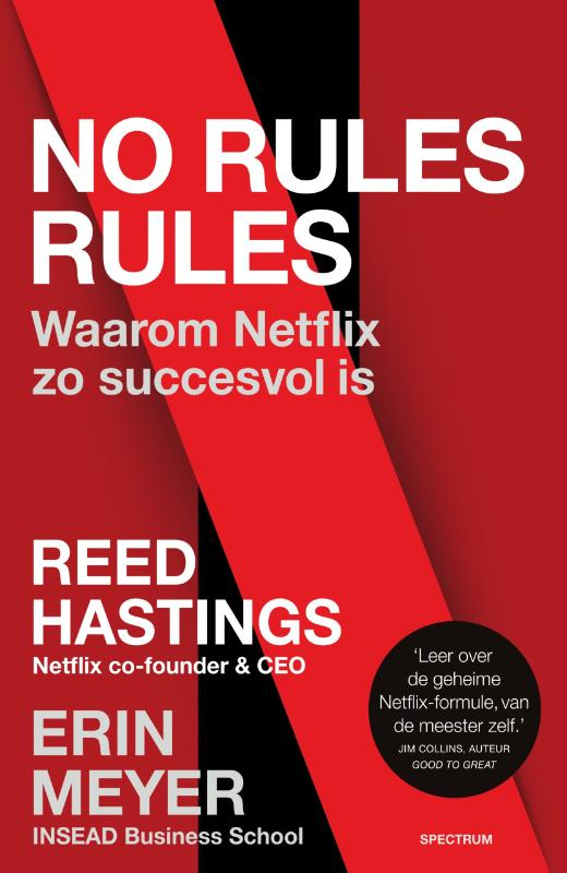 Reed Hastings, Erin Meyer,No rules rules
