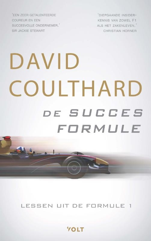 David Coulthard,De succesformule