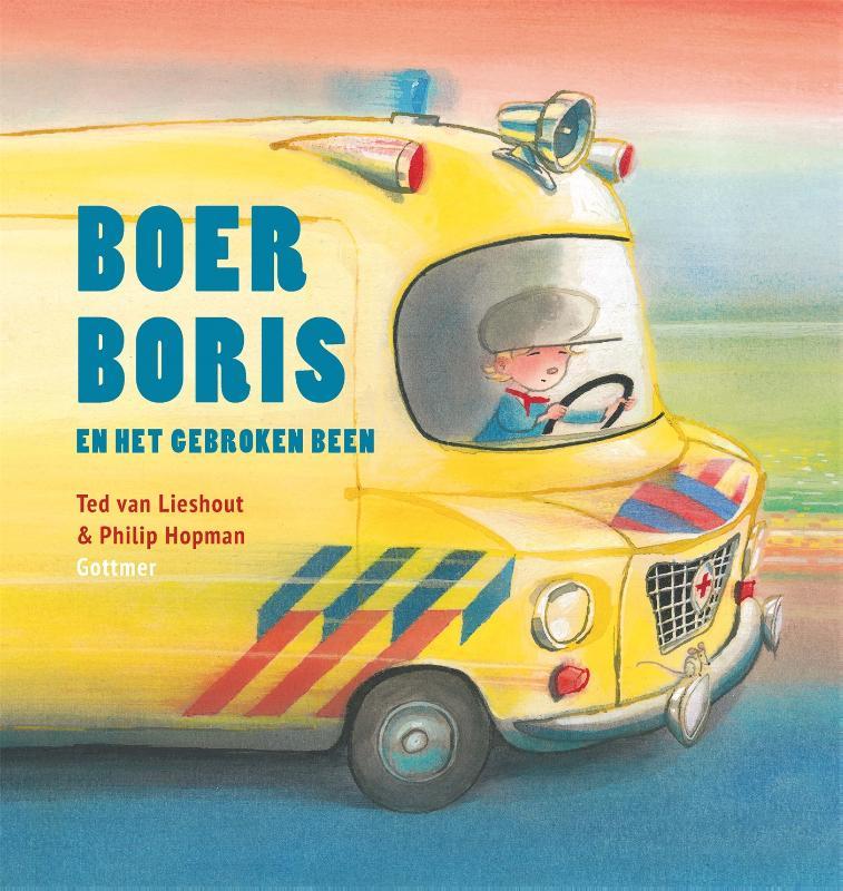 Ted van Lieshout,Boer Boris en het gebroken been