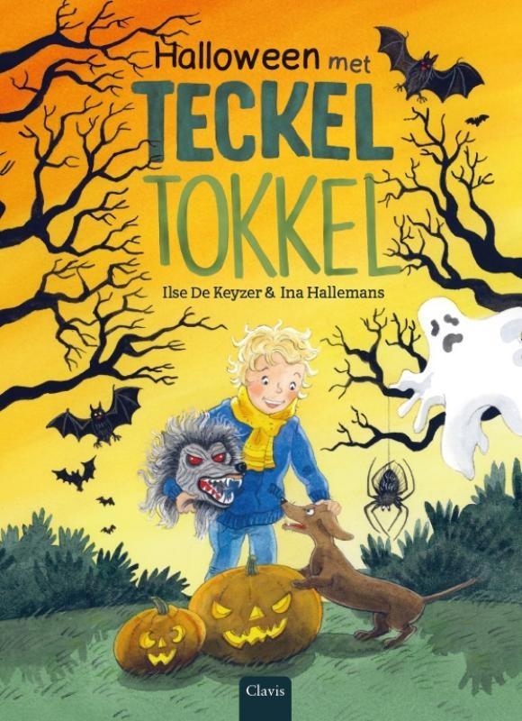 Ilse De Keyzer,Halloween met teckel Tokkel