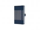 ,notitieboek Sigel Jolie Impress A6 hardcover gelinieerd     `Migdnight Blue`