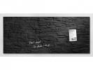 ,glasmagneetbord Sigel Artverum 1300x550x15mm leisteen