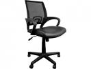 ,Managers bureaustoel in hoogte verstelbaar zwart
