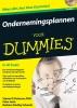 Steven D.  Peterson, Peter  Jaret, Barbara Findlay  Schenck,Ondernemingsplannen voor Dummies