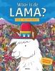 ,<b>Waar is de Lama? Kijk-en zoekboek</b>