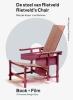 <b>Marijke  Kuper,  Lex  Reitsma</b>,De stoel van Rietveld / Rietveld s Chair + Film