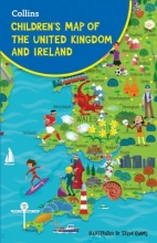 Evans, Steve Collins Children`s Map of the United Kingdom and Ireland