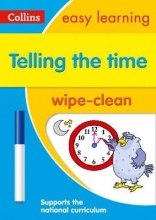 Collins Easy Learning Telling the Time Wipe Clean Activity Book