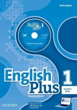 English Plus 1. Teacher`s Book with Resource Disk and Access to Practice Kit