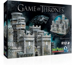 W3d-2018 Game of thrones - winterfell - wrebbit 3d puzzel - 910