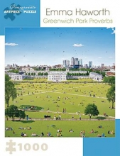 Emma Haworth Greenwich Park Proverbs 1000-Piece Jigsaw Puzzl