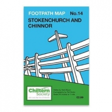 Nick Moon Map 14 Footpath Map No. 14 Stokenchurch and Chinnor