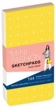 Mini Fashion Sketchpads