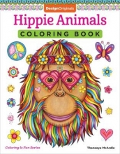 Thaneeya McArdle Hippie Animals Coloring Book