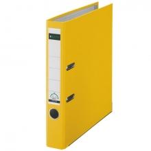 , Ordner Leitz A4 80mm PP geel