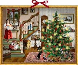 , Adventskalender kerstmis bij me thuis