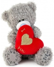 Vp401018 , Me to you knuffel - beer - i heart you - 11cm