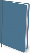 Sbc a4 , Boekenkaft dresz rekbaar petrol blue