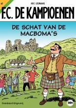 Hec  Leemans F.C. De Kampioenen De schat van de MacBoma`s 47