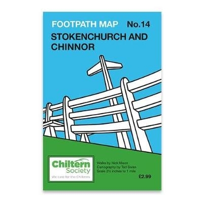 Nick Moon,Map 14 Footpath Map No. 14 Stokenchurch and Chinnor