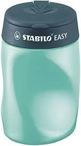 ,Puntenslijper STABILO Easy 4501 3 in 1 linkshandig petrol