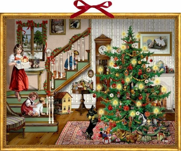 ,Adventskalender kerstmis bij me thuis