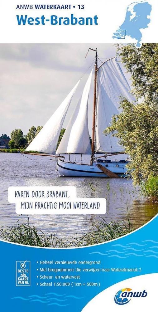 ,Waterkaart 13. West-Brabant