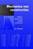 , A.L.  Bouma, Mechanica van constructies