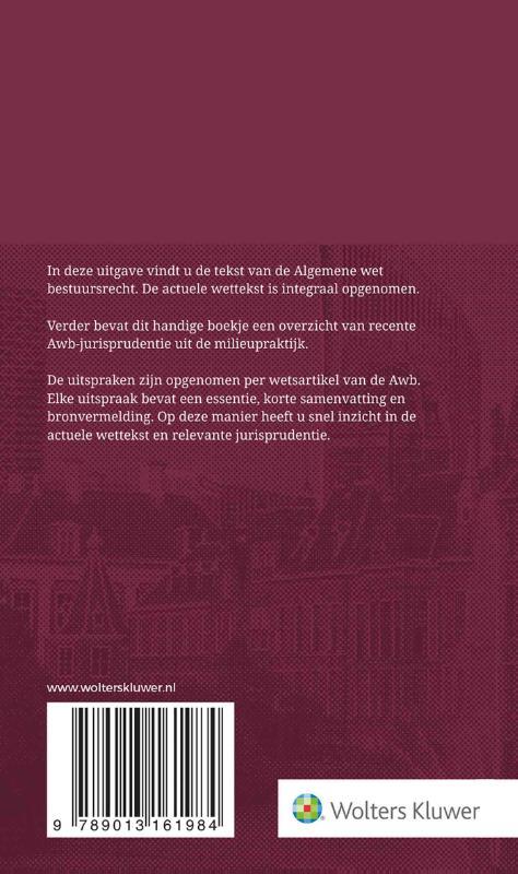 ,Tekstuitgave Algemene wet bestuursrecht 2021